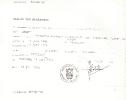 Verlof tot begraving van Catharina Louisa Dees (14-07-1975)