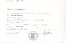 Verlof tot begraving van Izaak van den Broeke (11-07-1973)